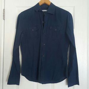 GAP 1969 Blue dnim button down shirt Size Small